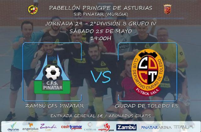 Zambú CFS Pinatar quiere celebrar junto a su afición el final de la mejor temporada de su historia - 1, Foto 1