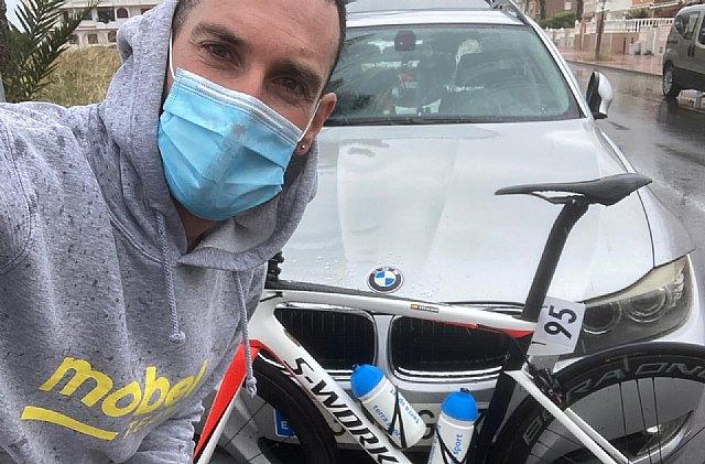 [Diego José Romera, del Terra Sport Cycling Team, participó en la 2ª etapa de la XXVI Interclub Vega Baja
