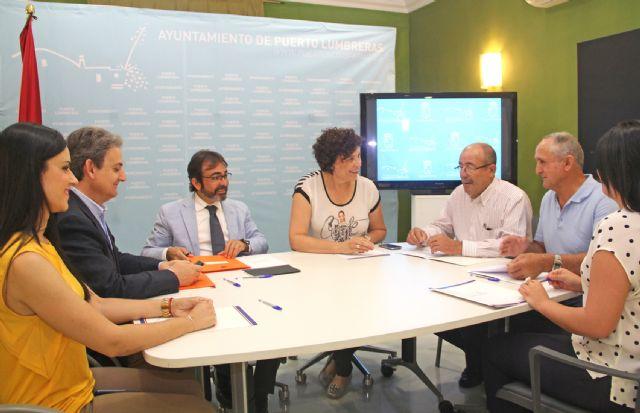 La Alcaldesa de Puerto Lumbreras y el Consejero de Fomento e Infraestructuras acuerdan nuevas actuaciones para el municipio - 1, Foto 1
