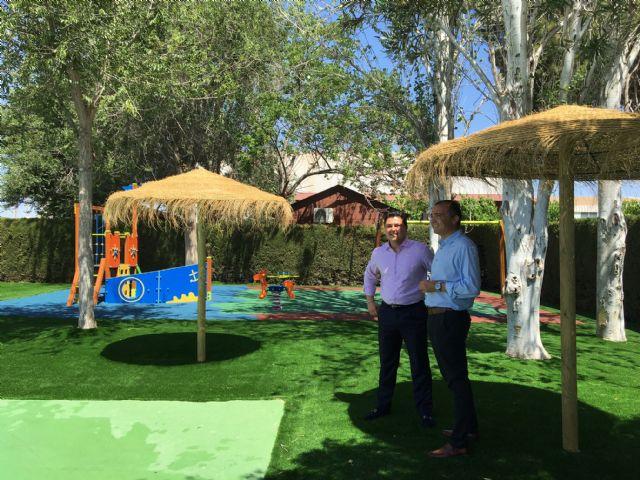 San javier la piscina municipal estrena parque infantil for Piscina municipal puerto de la cruz