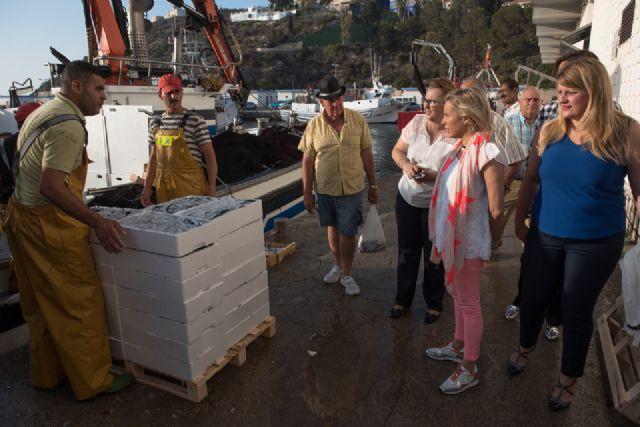 La lonja de Puerto de Mazarrón registra datos de capturas históricos - 1, Foto 1