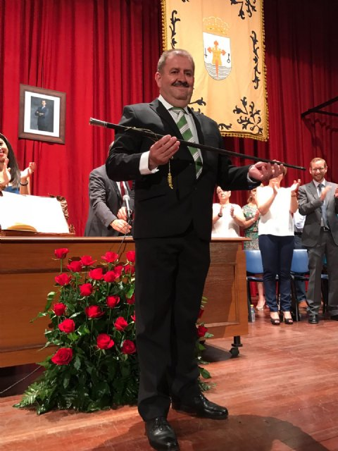 Garcia Cánovas announced that to clean up the economic situation of the municipality, the elaboration of the General Plan and the creation of the Ombudsman are among its priorities of government, Foto 3