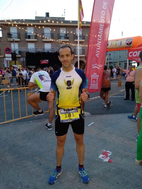 "Edu Lucas doubled this past week participating in two races of the racing circuit ""Run for Murcia"""