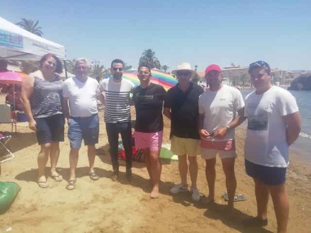 La jornada de convivencia organizada por D´Genes en Puerto de Mazarrón para despedir el curso 2018/19 transcurrió en un inmejorable ambiente