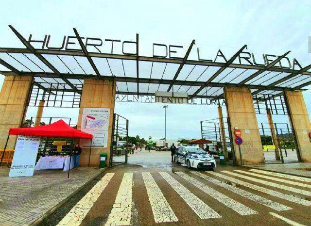 Adaptan el Mercado Semanal del Huerto de la Rueda a los criterios establecidos por las autoridades sanitarias para la nueva normalidad - 1, Foto 1