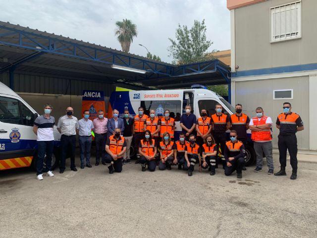 Protección Civil estrena una ambulancia y un novedoso sistema que permite la coordinación directa y eficaz con el 112 - 1, Foto 1