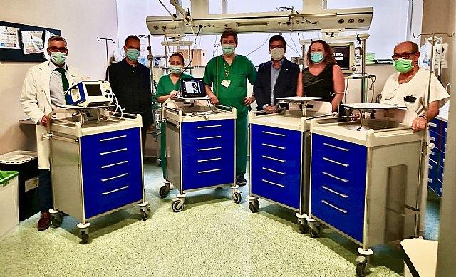 La Fundación SABIC España dona material y equipos sanitarios a la UCI del hospital Santa Lucia - 1, Foto 1