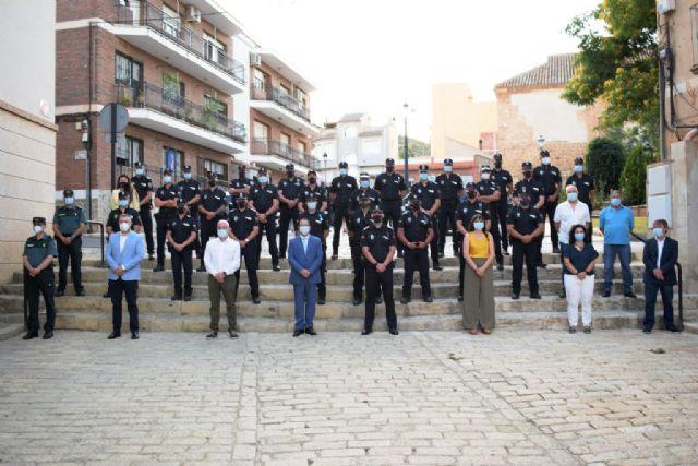 La Policía Local de Mazarrón celebra su patrón con una misa y un acto de entrega de distinciones - 1, Foto 1