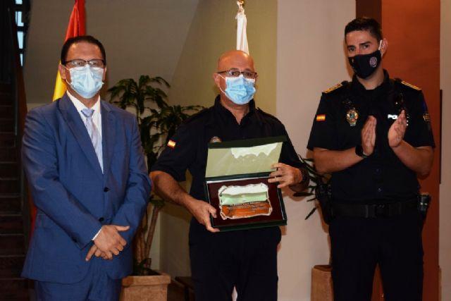 La Policía Local de Mazarrón celebra su patrón con una misa y un acto de entrega de distinciones - 3, Foto 3