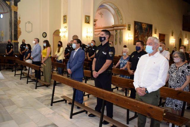 La Policía Local de Mazarrón celebra su patrón con una misa y un acto de entrega de distinciones - 4, Foto 4