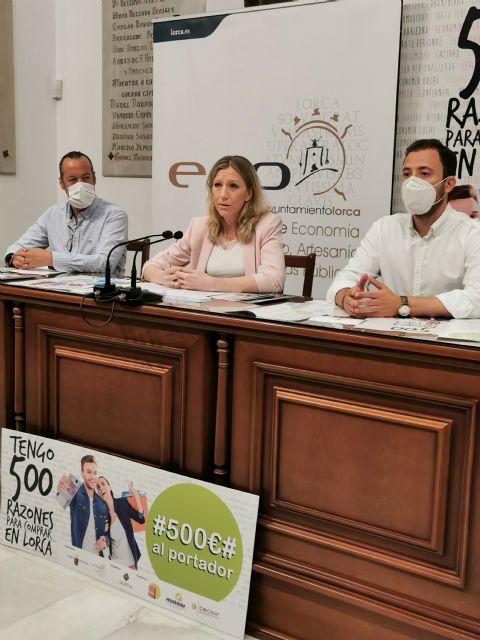 Presentan la campaña 500 razones para comprar en Lorca con el objetivo de fomentar el comercio local - 2, Foto 2