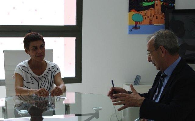 El Ayuntamiento de Beniel y Amusal colaborarán conjuntamente para fomentar el emprendimiento colectivo - 1, Foto 1
