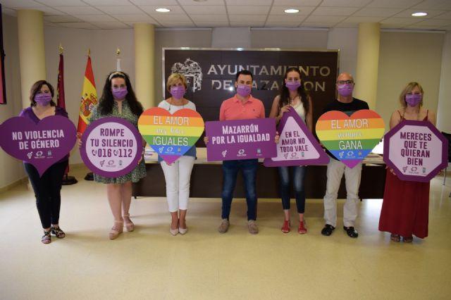 Mazarrón por la Igualdad, campaña pionera contra la violencia de género y la homofobia - 1, Foto 1
