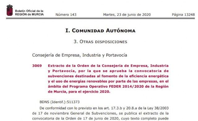 Abierto el plazo de solicitud de subvenciones eficiencia energética y energías renovables - 1, Foto 1