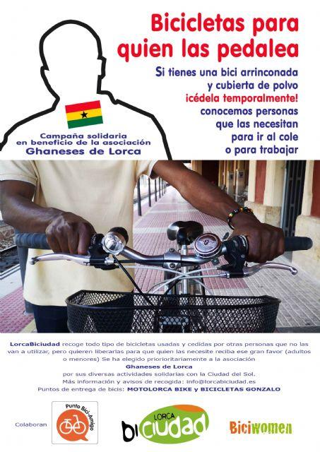 """Entrega de las primeras bicicletas solidarias de la campaña """"Bicicletas para quien las pedalea"""" - 1, Foto 1"""
