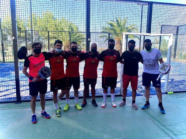 [Resultados de los equipos totaneros de pádel del Club de Tenis Totana durante el fin de semana del 19 al 20 de Junio