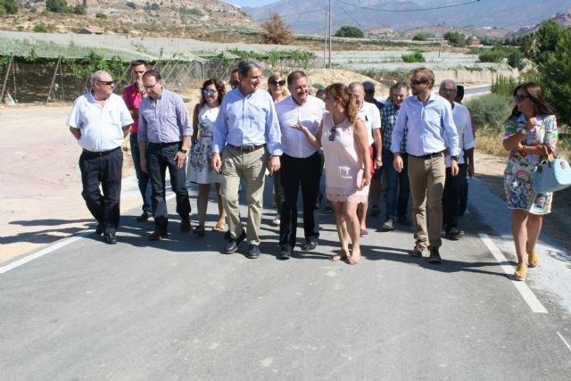 La Comunidad mejora el acceso principal al yacimiento arqueológico de La Bastida