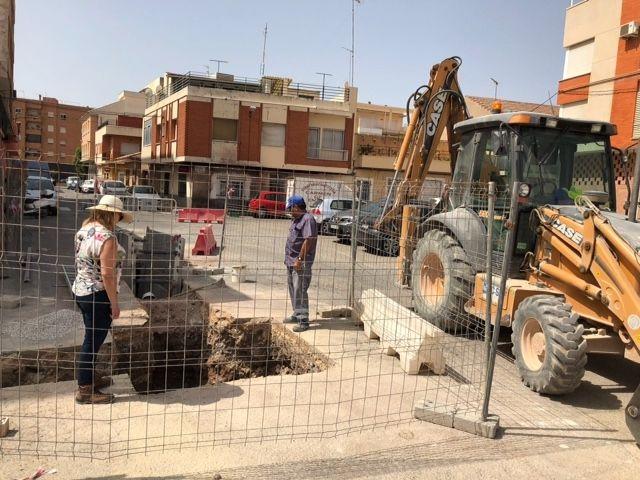 Finalizan las obras de instalación de un tramo de red de alcantarillado entre la avenida Juan Carlos I y la calle Ramón y Cajal - 2, Foto 2