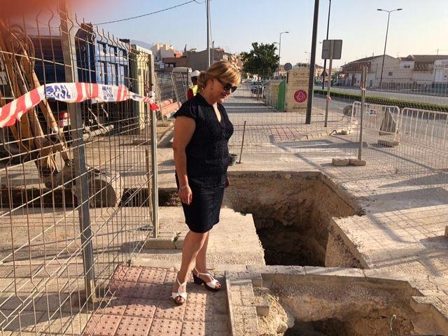 Finalizan las obras de instalación de un tramo de red de alcantarillado entre la avenida Juan Carlos I y la calle Ramón y Cajal - 5, Foto 5