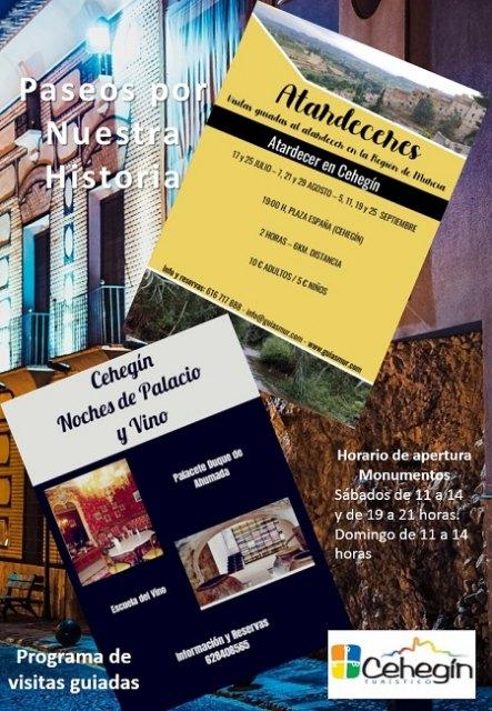 La concejalía de Turismo impulsa un programa de visitas guiadas por el Cehegín Monumental - 1, Foto 1