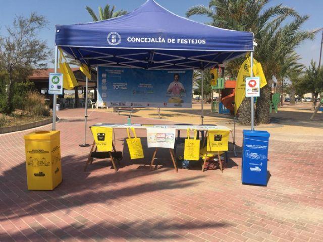 Medio Ambiente lleva a las playas una campaña sobre el reciclaje y la adecuada gestión de residuos - 2, Foto 2