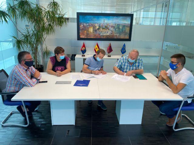 El Ayuntamiento de Torre Pacheco firma convenio de colaboración con FAETPA-COEC Torre Pacheco - 1, Foto 1