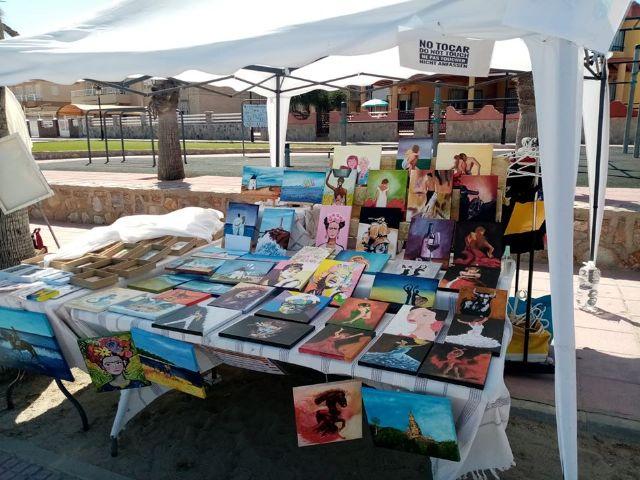 Mercado artesano en Los Alcazares, en el Paseo de la Caleta - 1, Foto 1