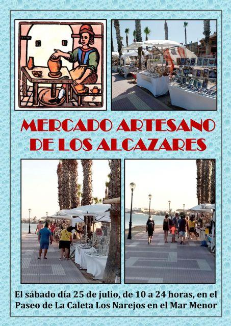 Mercado artesano en Los Alcazares, en el Paseo de la Caleta - 5, Foto 5