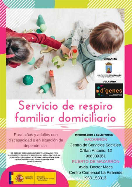 Política Social pone en marcha un servicio de respiro familiar junto a D'genes, Foto 2