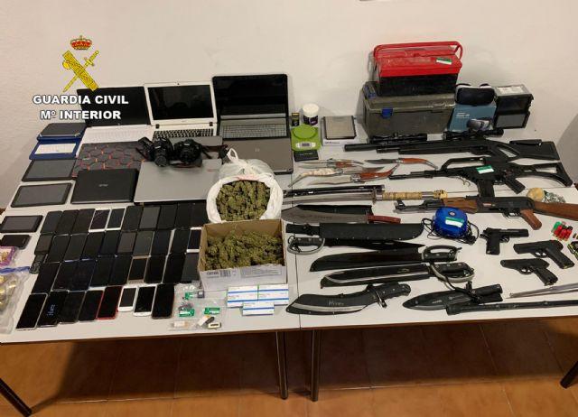 La Guardia Civil culmina una macro-operación antidroga con 71 detenidos en la comarca murciana de la Vega Alta del Segura - 5, Foto 5