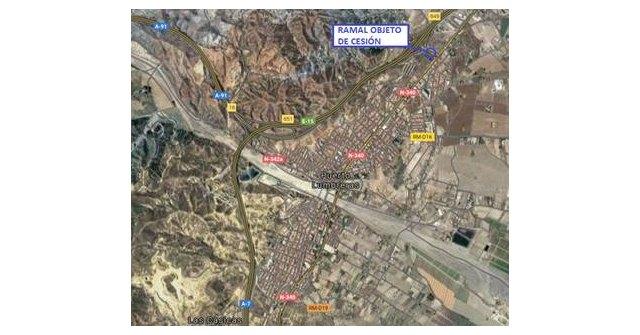 Mitma cede al Ayuntamiento de Puerto Lumbreras la titularidad de un ramal de la autovía A-7 - 1, Foto 1