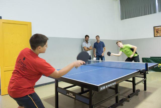 El pabellón de la Aceña acoge este sábado una concentración nacional de tenis de mesa - 1, Foto 1