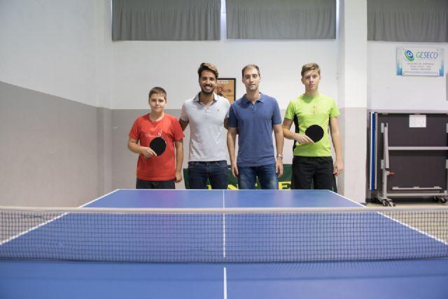 El pabellón de la Aceña acoge este sábado una concentración nacional de tenis de mesa - 2, Foto 2