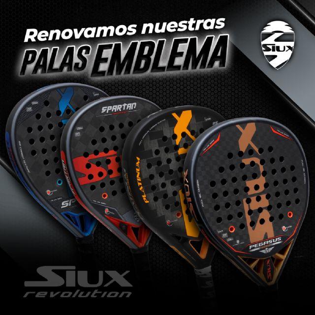 Las palas más emblemáticas de Siux se unen a la gama Revolution - 3, Foto 3