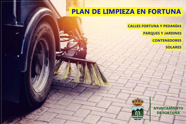 El Ayuntamiento ha iniciado un Plan de Limpieza para mejorar la imagen y la salubridad de los espacios públicos de Fortuna - 1, Foto 1