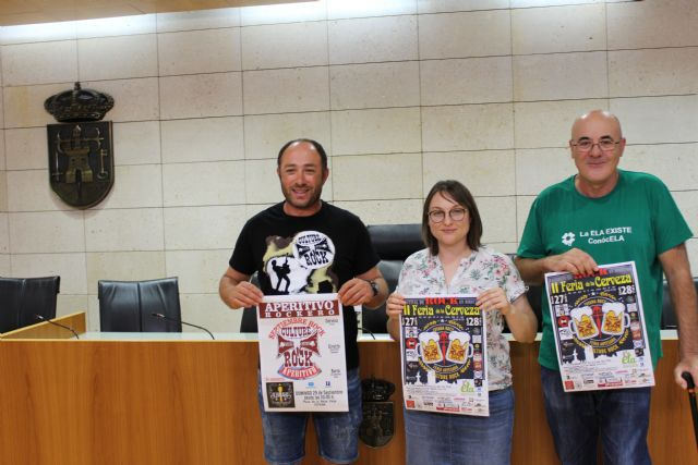 The II Beer Fair is held this weekend in the Plaza de la Balsa Vieja