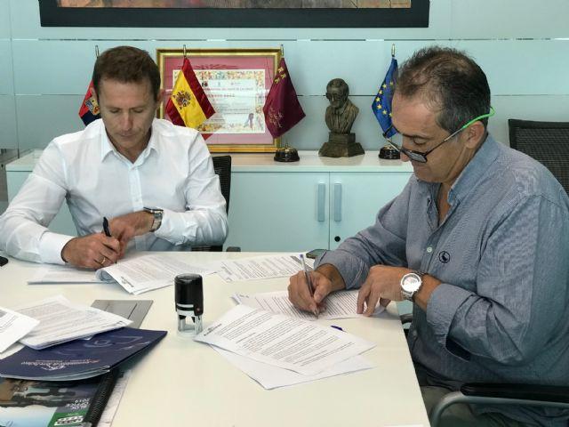El Ayuntamiento firma convenio de colaboración con el Club de Tenis de Torre Pacheco - 1, Foto 1