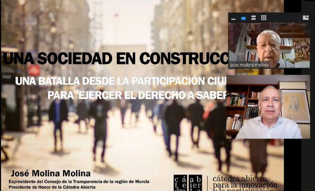 Las Torres de Cotillas trata la participación ciudadana para el desarrollo de la sociedad con José Molina - 1, Foto 1