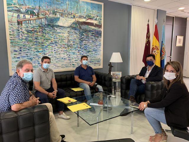 El alcalde recibe al nuevo presidente de AFEMAR, José Ramón Sáez - 1, Foto 1