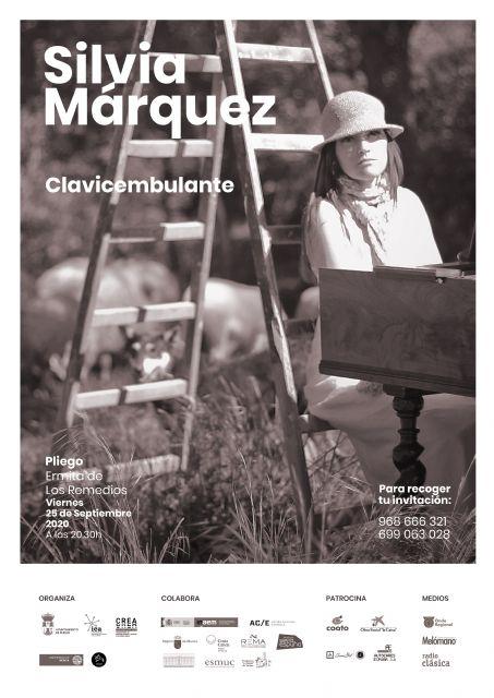 La música antigua vuelve a Pliego de la mano de Silvia Márquez - 1, Foto 1