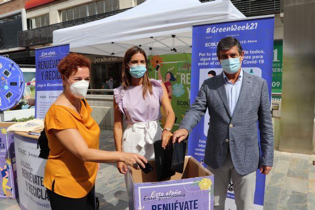 Murcia acoge la #GreenWeek21 de la Fundación Ecolec con el objetivo de concienciar sobre el reciclaje de RAEE - 1, Foto 1