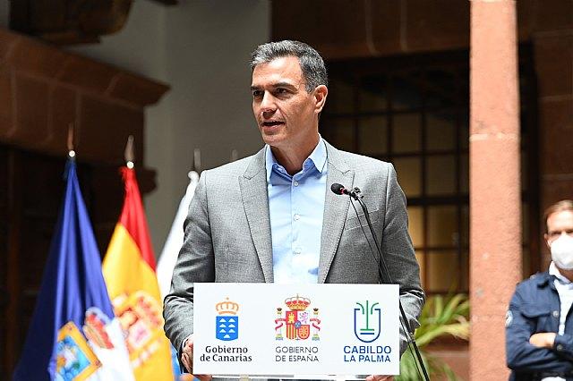 Pedro Sánchez anuncia un Plan Especial para la Reconstrucción de La Palma para combatir la emergencia volcánica en la isla - 2, Foto 2