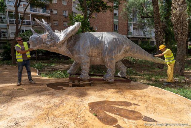 Los dinosaurios llegan al parque Sauces - 1, Foto 1