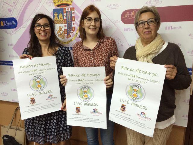 La Concejalía de Voluntariado y la Asociación Más Activa ponen en marcha el Banco del Tiempo - 1, Foto 1