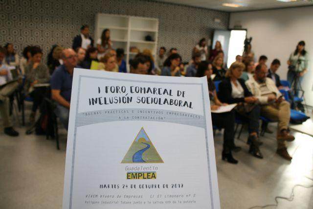 Totana acoge el I Foro Comarcal de Inclusión Sociolaboral, Foto 2