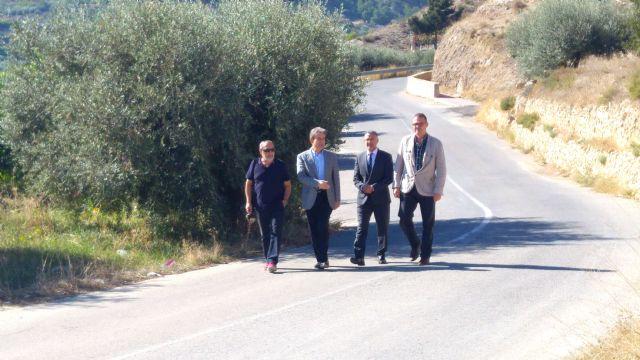 Fomento estudia mejorar la carretera que une Ricote con la RM-532, que discurre entre Mula y Cieza - 1, Foto 1
