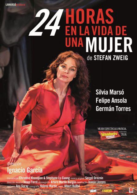 Abrimos temporada teatral en el CAES con 24 horas en la vida de una mujer - 1, Foto 1