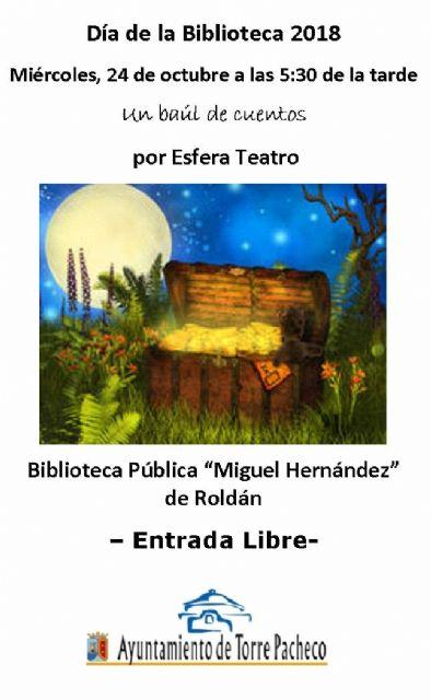 La Biblioteca Pública Municipal de Torre Pacheco celebra el Día de la Biblioteca - 2, Foto 2
