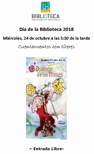 La Biblioteca Pública Municipal de Torre Pacheco celebra el Día de la Biblioteca - 3, Foto 3