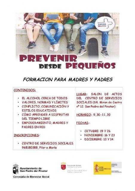 Servicios sociales imparte talleres de prevención del consumo de drogas dirigido a padres y madres - 2, Foto 2
